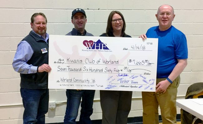 WHF group photo with Worland Check 2018